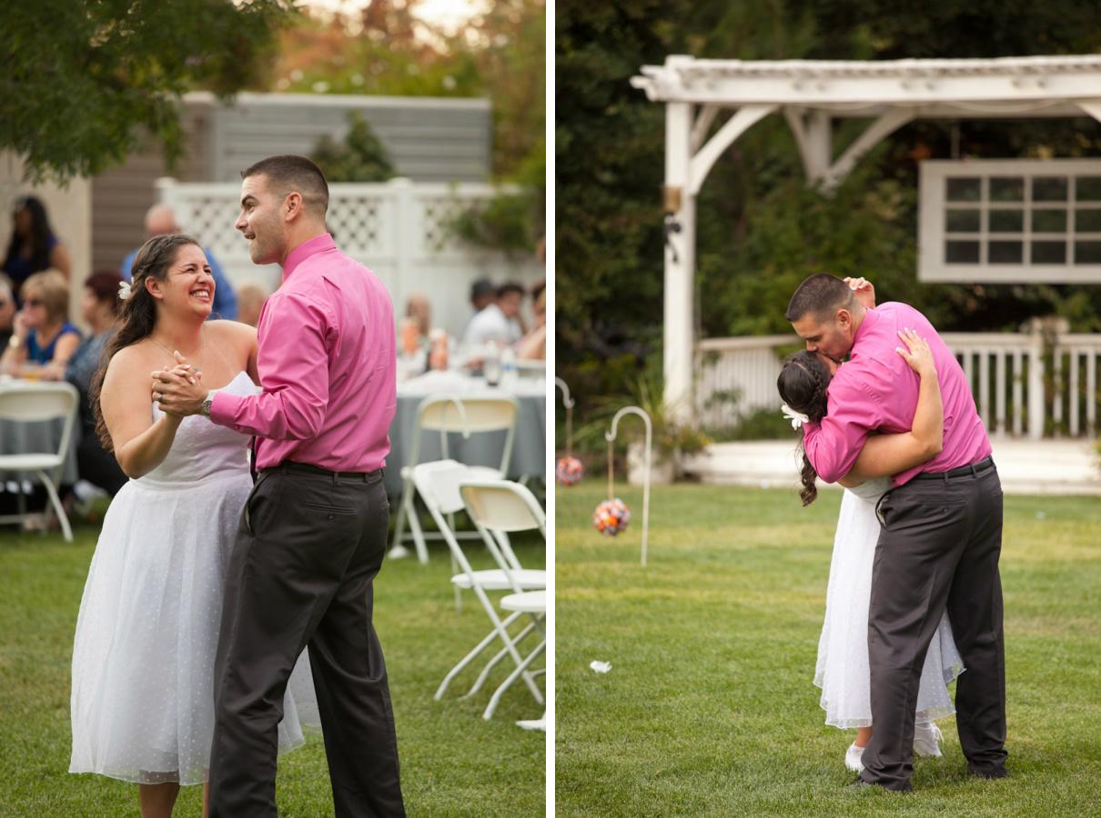sister brother dance wedding