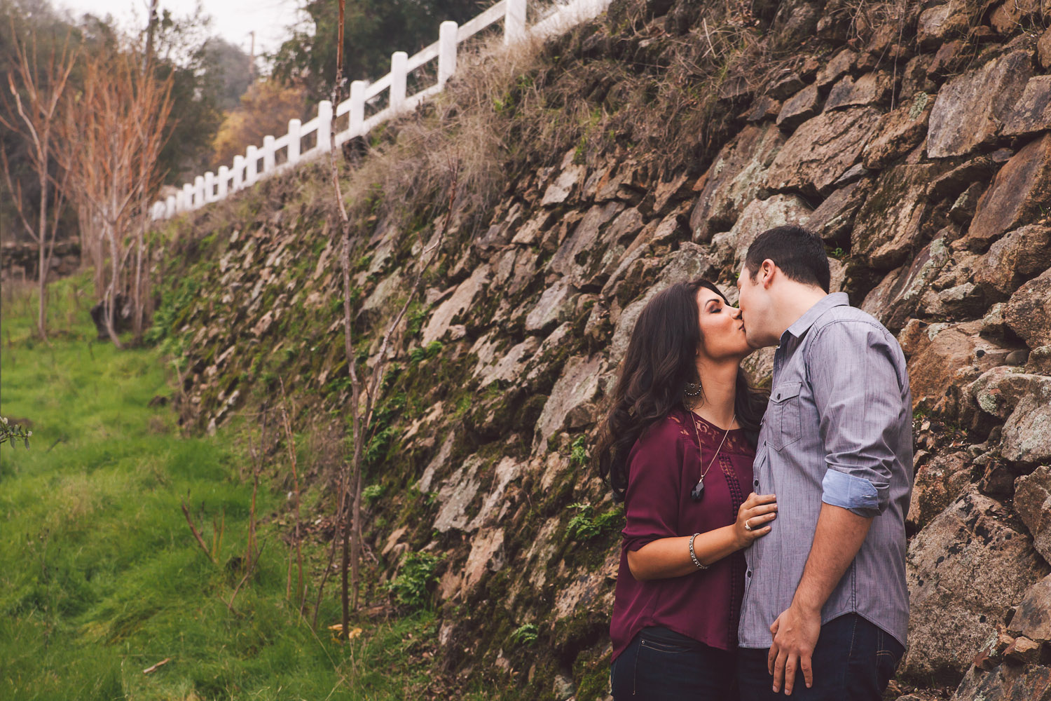 knights ferry engagement session