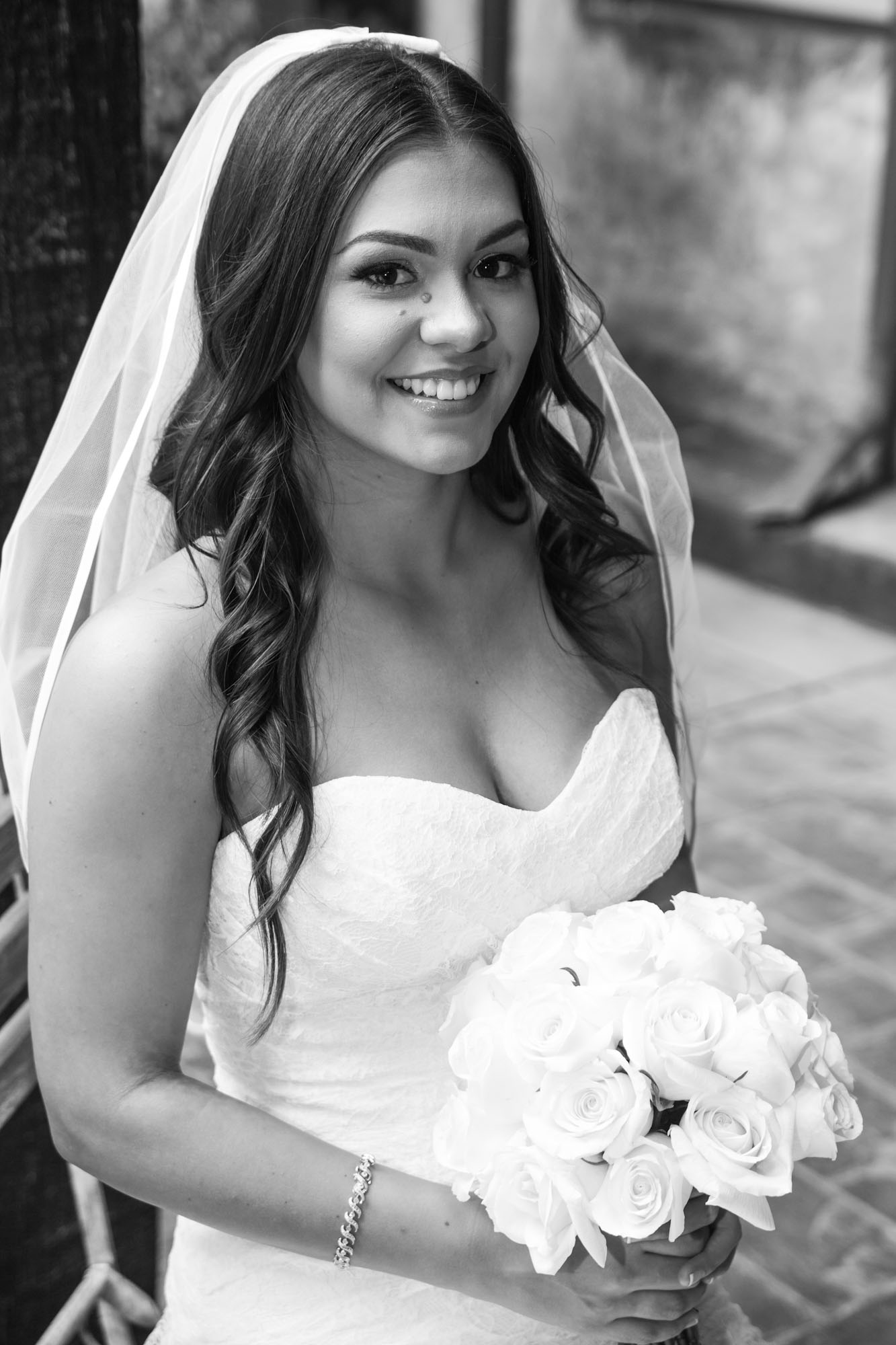 black and white wedding photography modesto