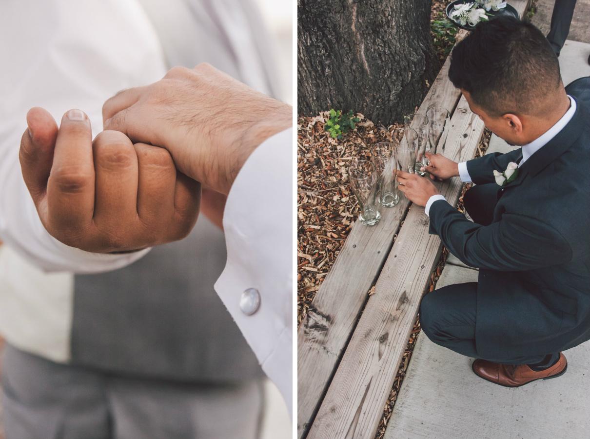 black tie wedding stockton
