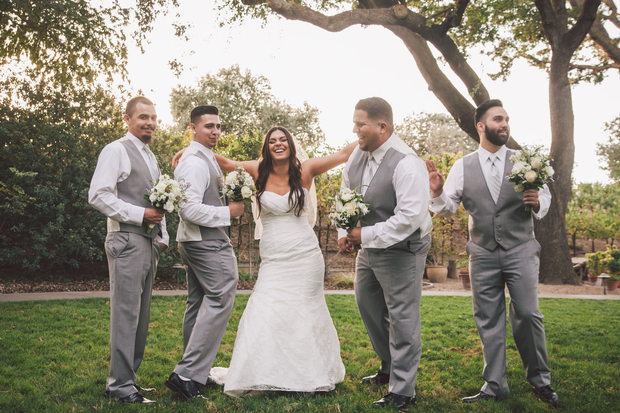 fun wedding photographer modesto