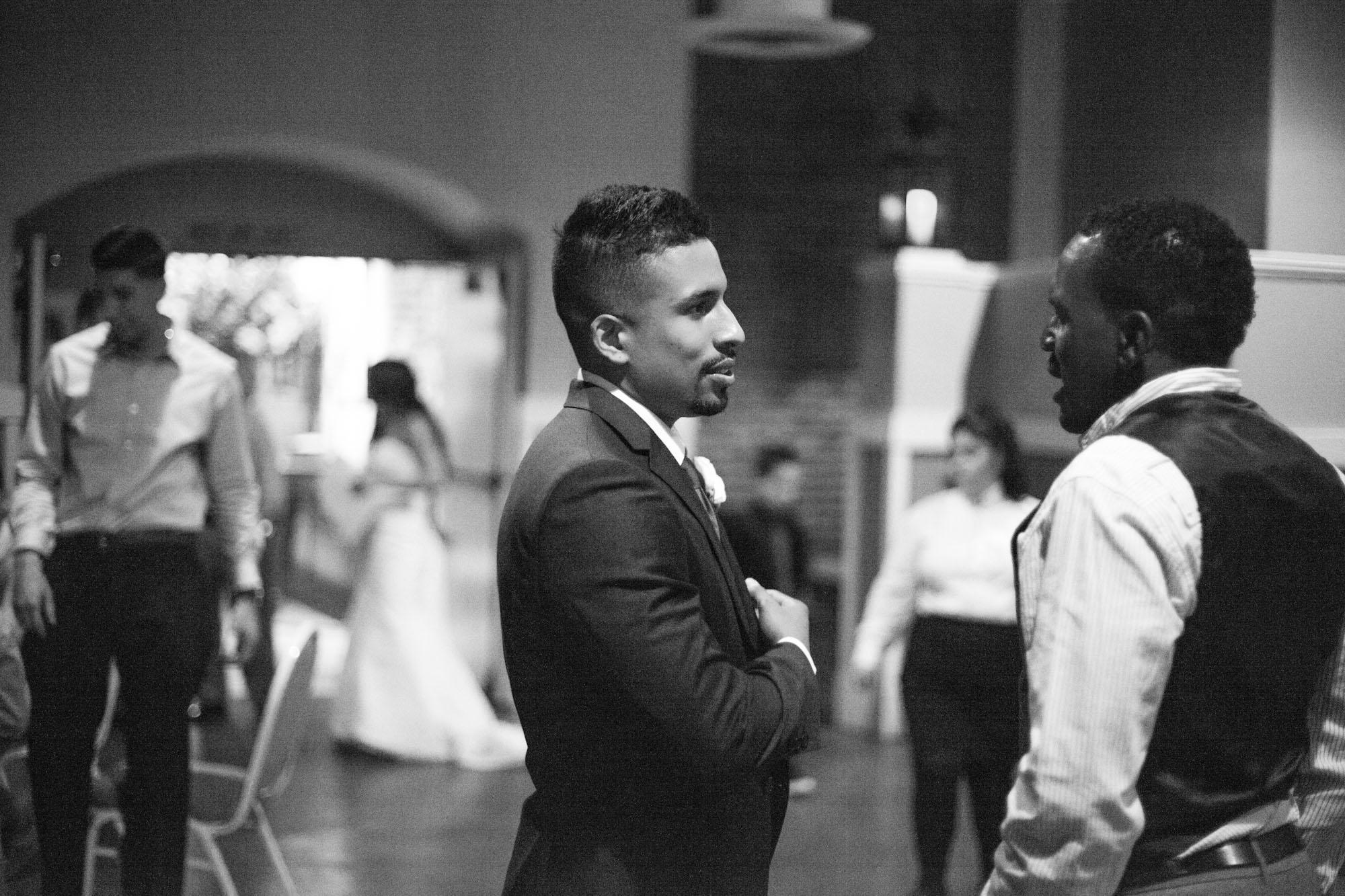 black and white wedding modesto