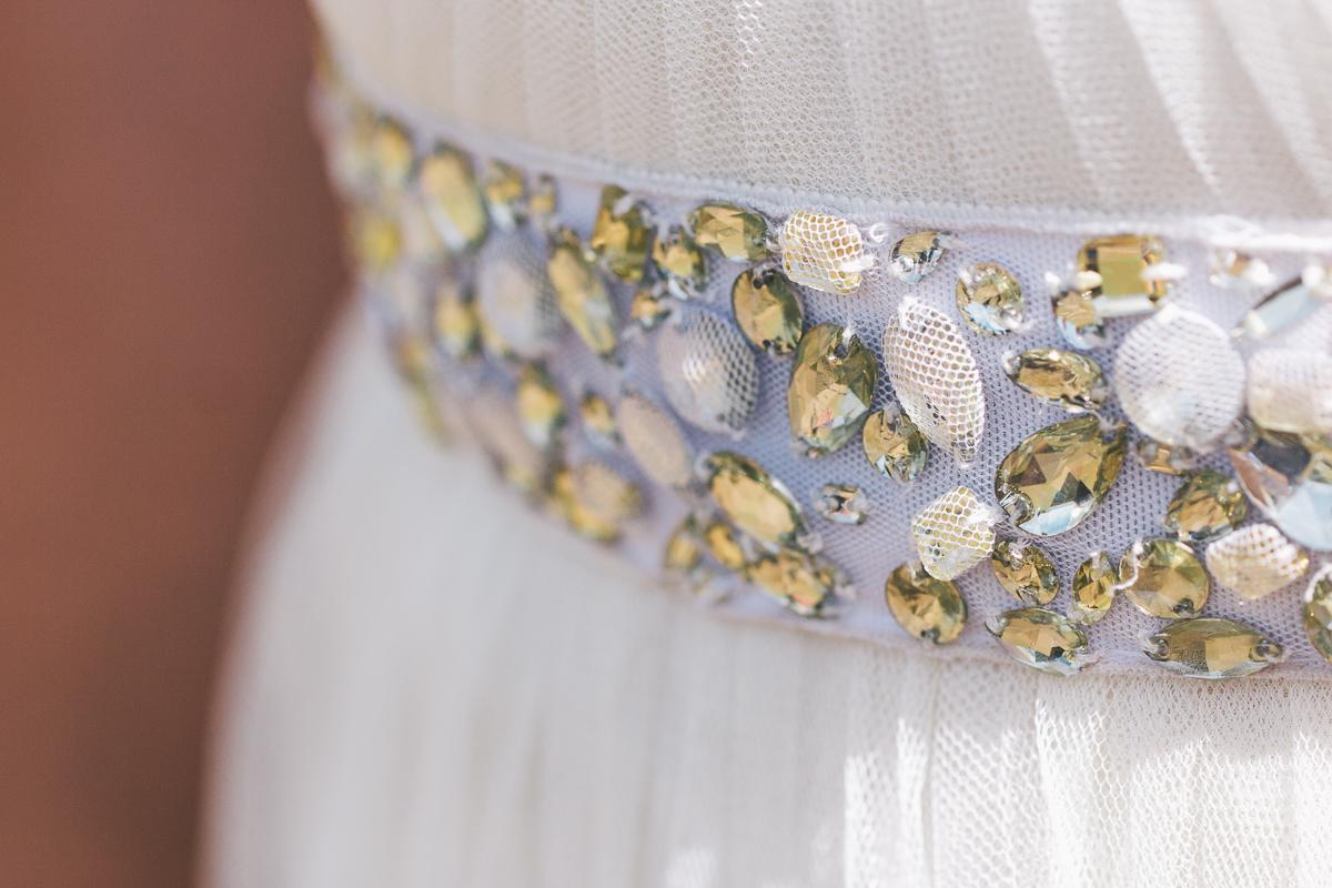 bride rhinestone belt