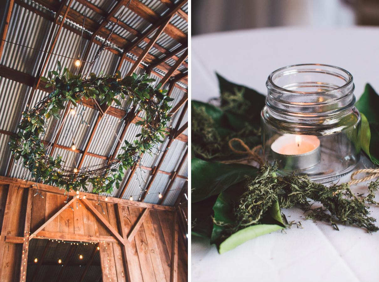lehman barn wedding decoration