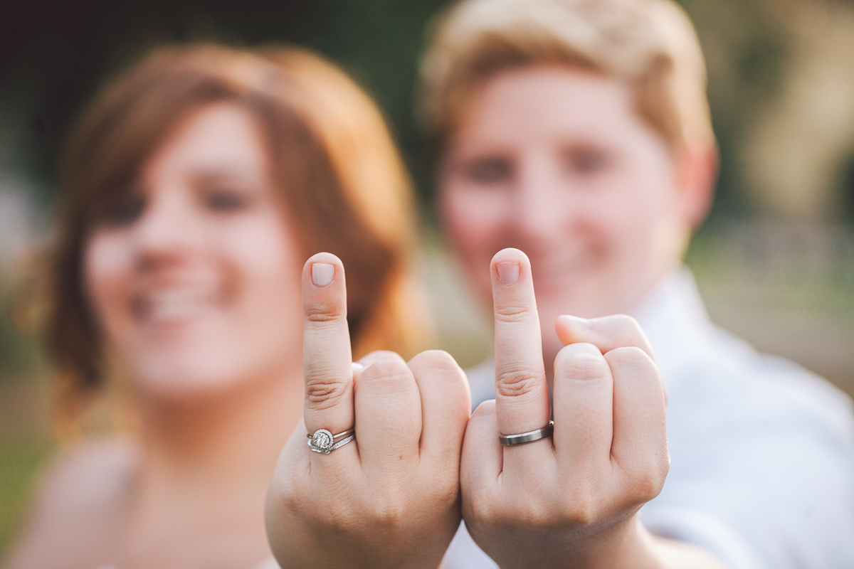 funny ring picture wedding