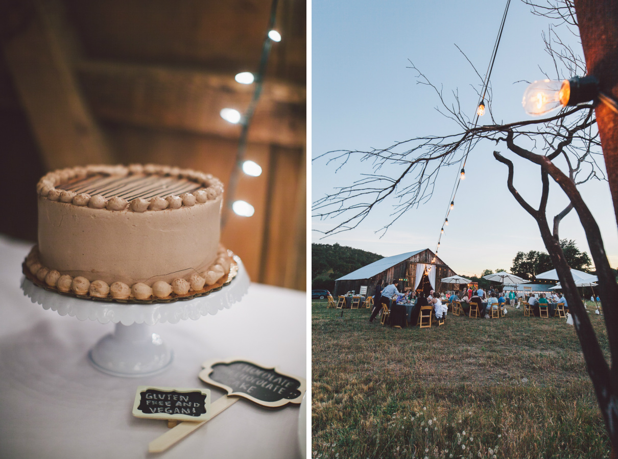 central valley barn wedding