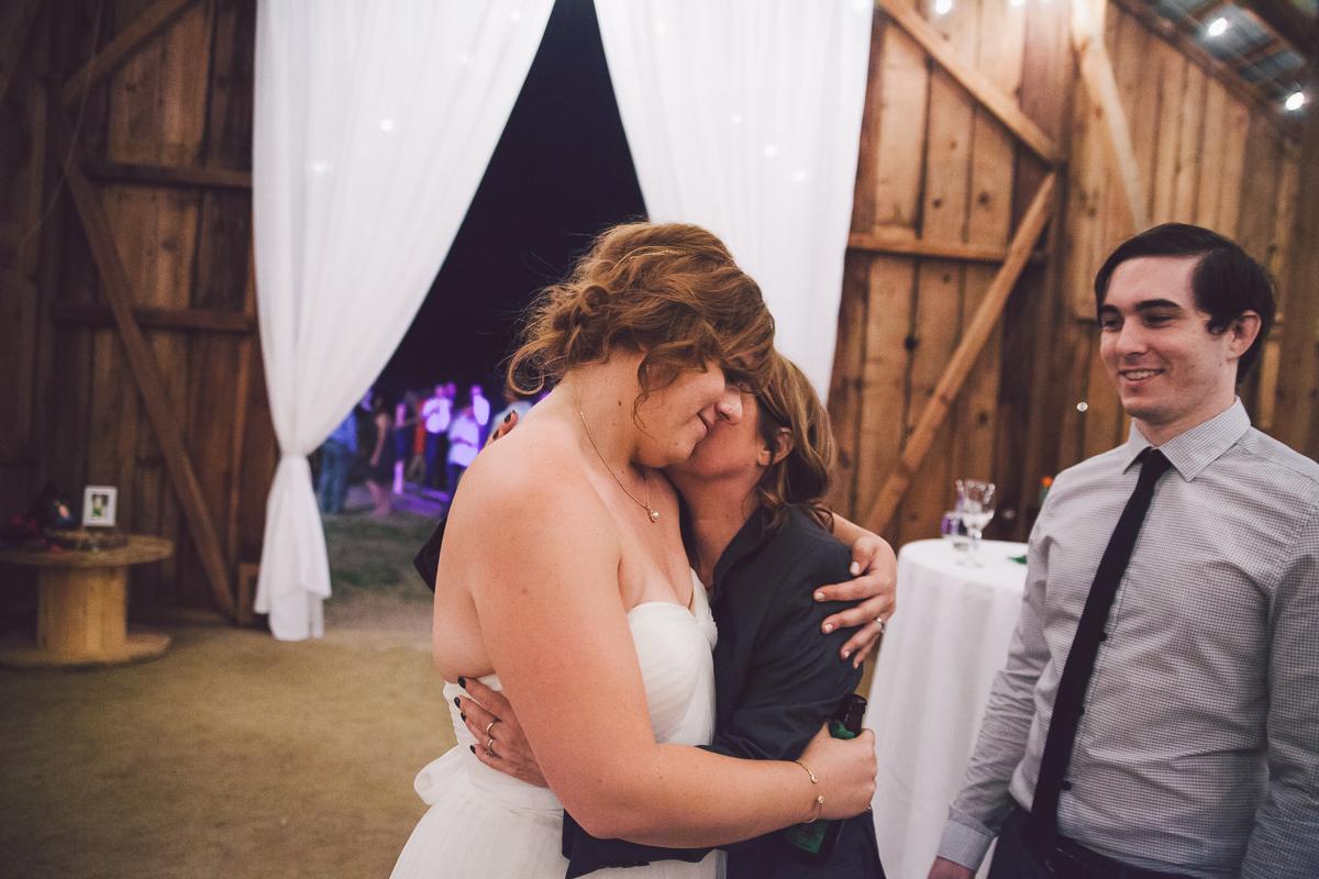 bride barn reception
