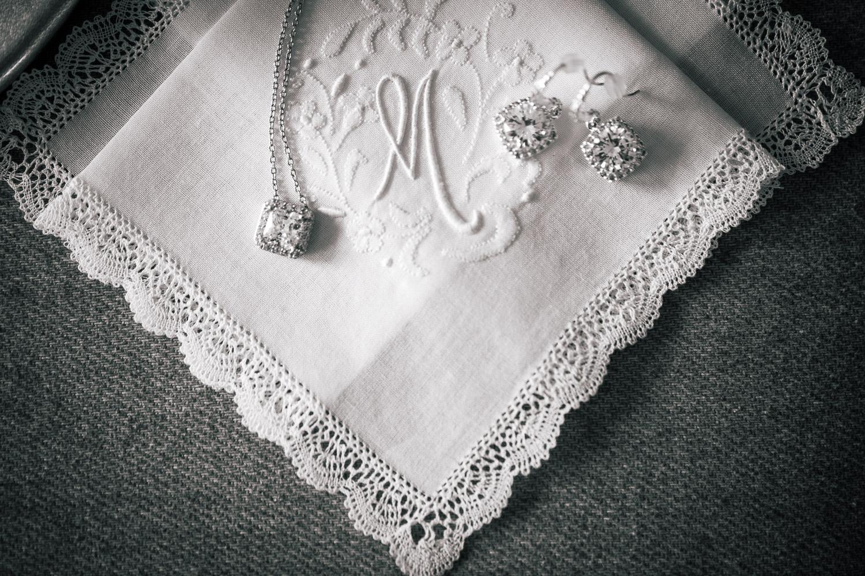 vintage handkerchief wedding