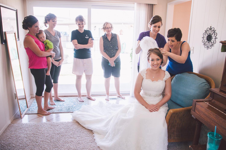 Escalon Christian Reformed Church Wedding