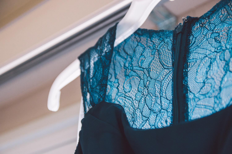 lace navy bridesmaid dress
