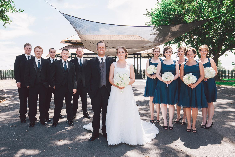 downtown escalon wedding