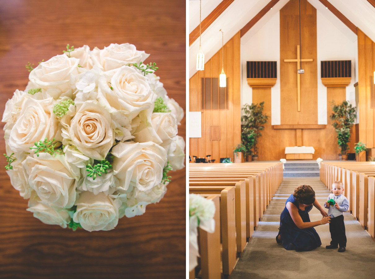 escalon christian reformed church wedding photographer