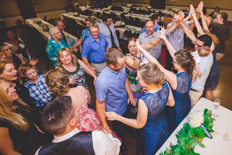 escalon wedding grand exit