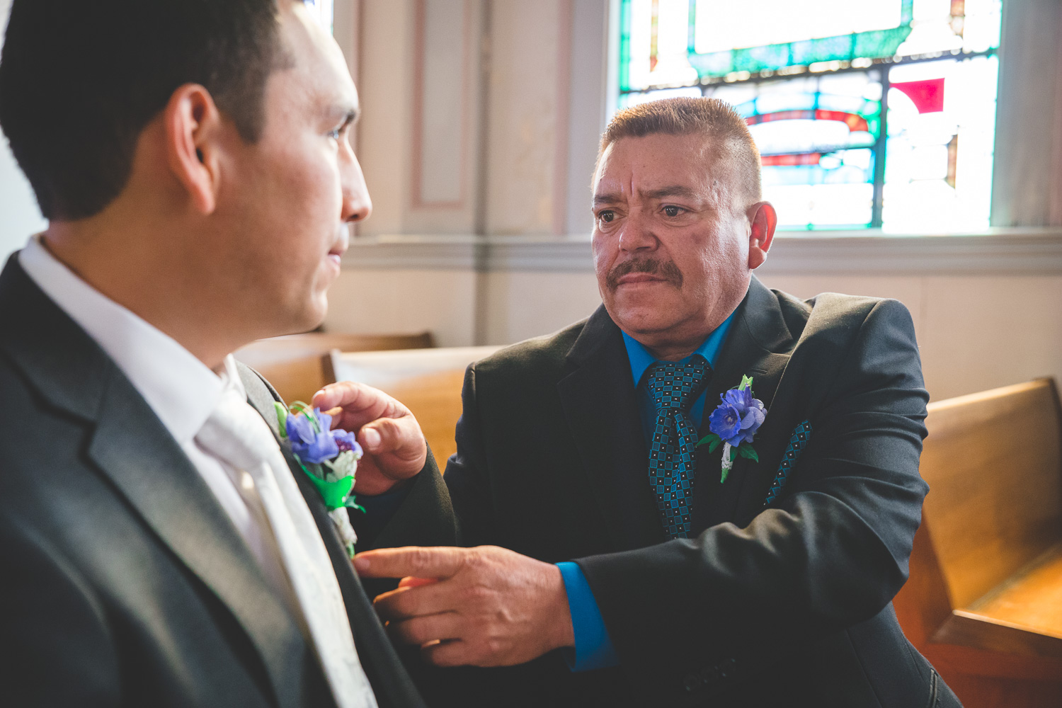 emotional father of the groom