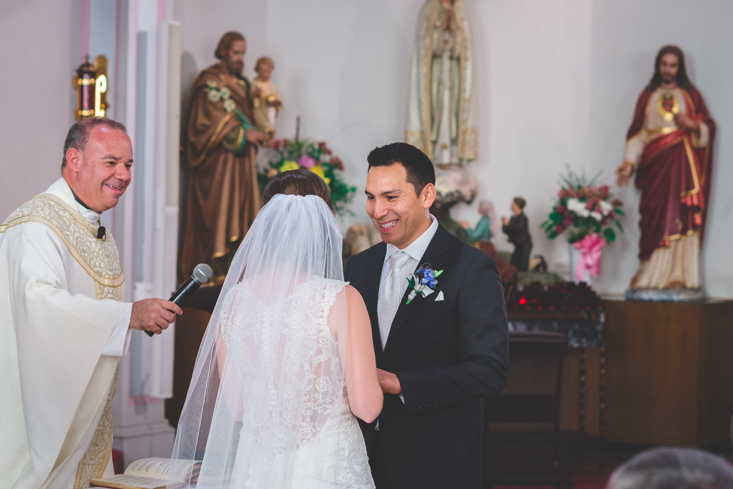 spanish catholic wedding modesto