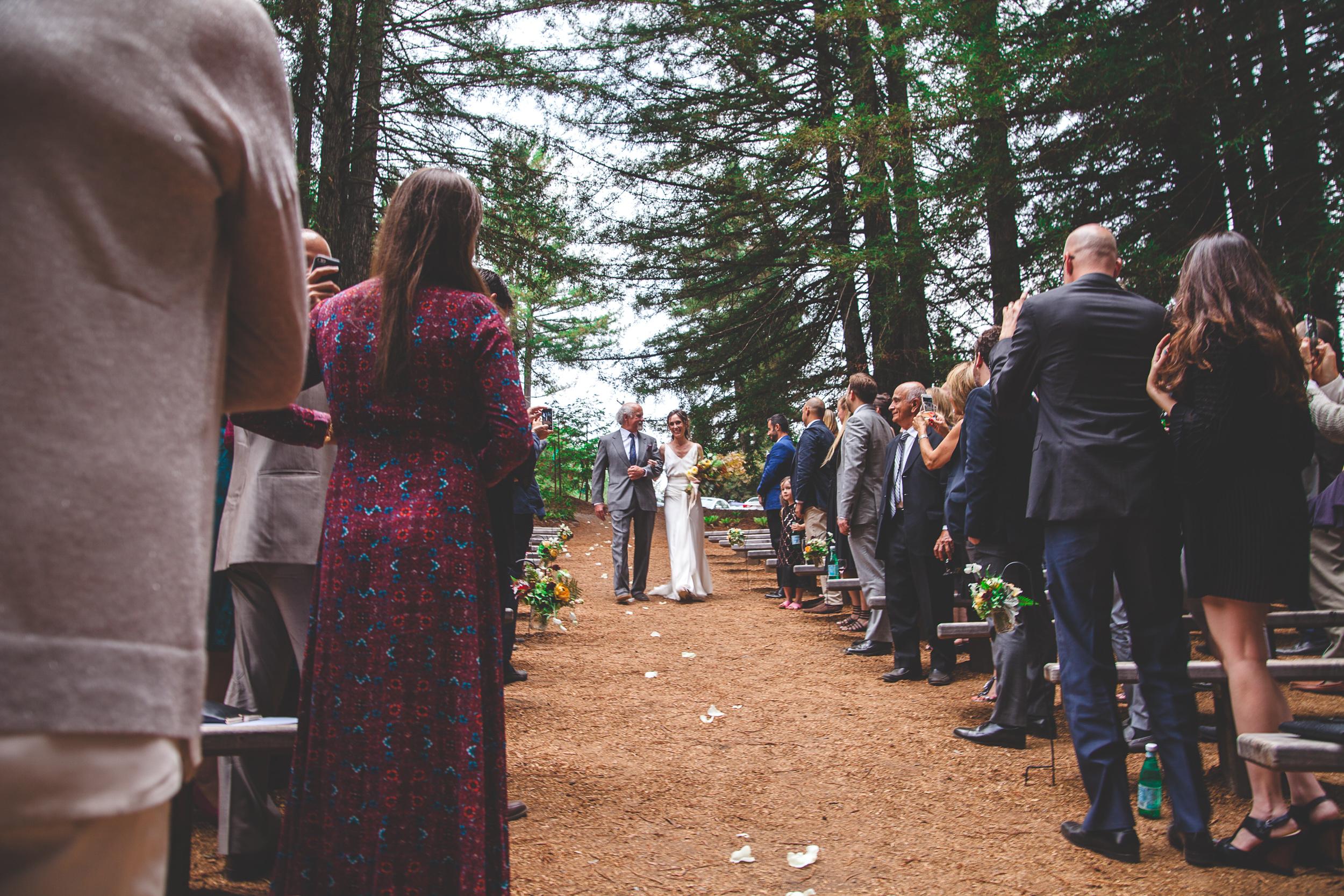 the grove occidental wedding ceremony