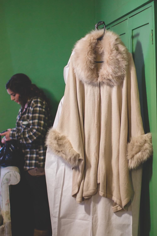 wedding fur