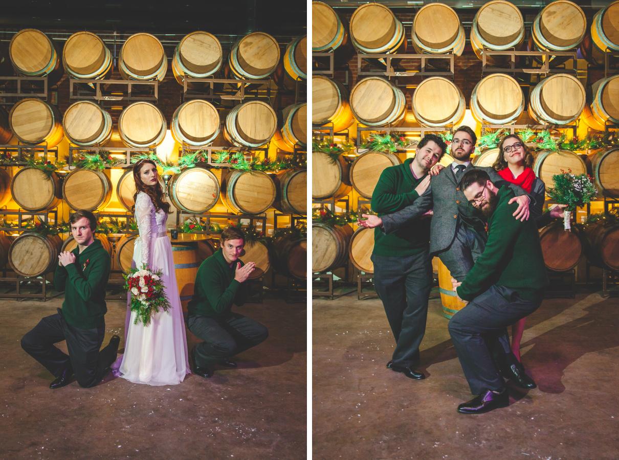 winter wedding modesto