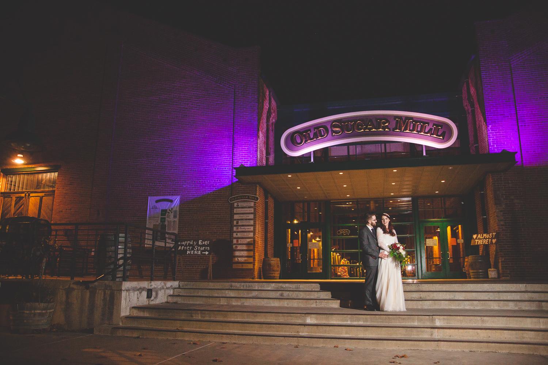old sugar mill wedding photography