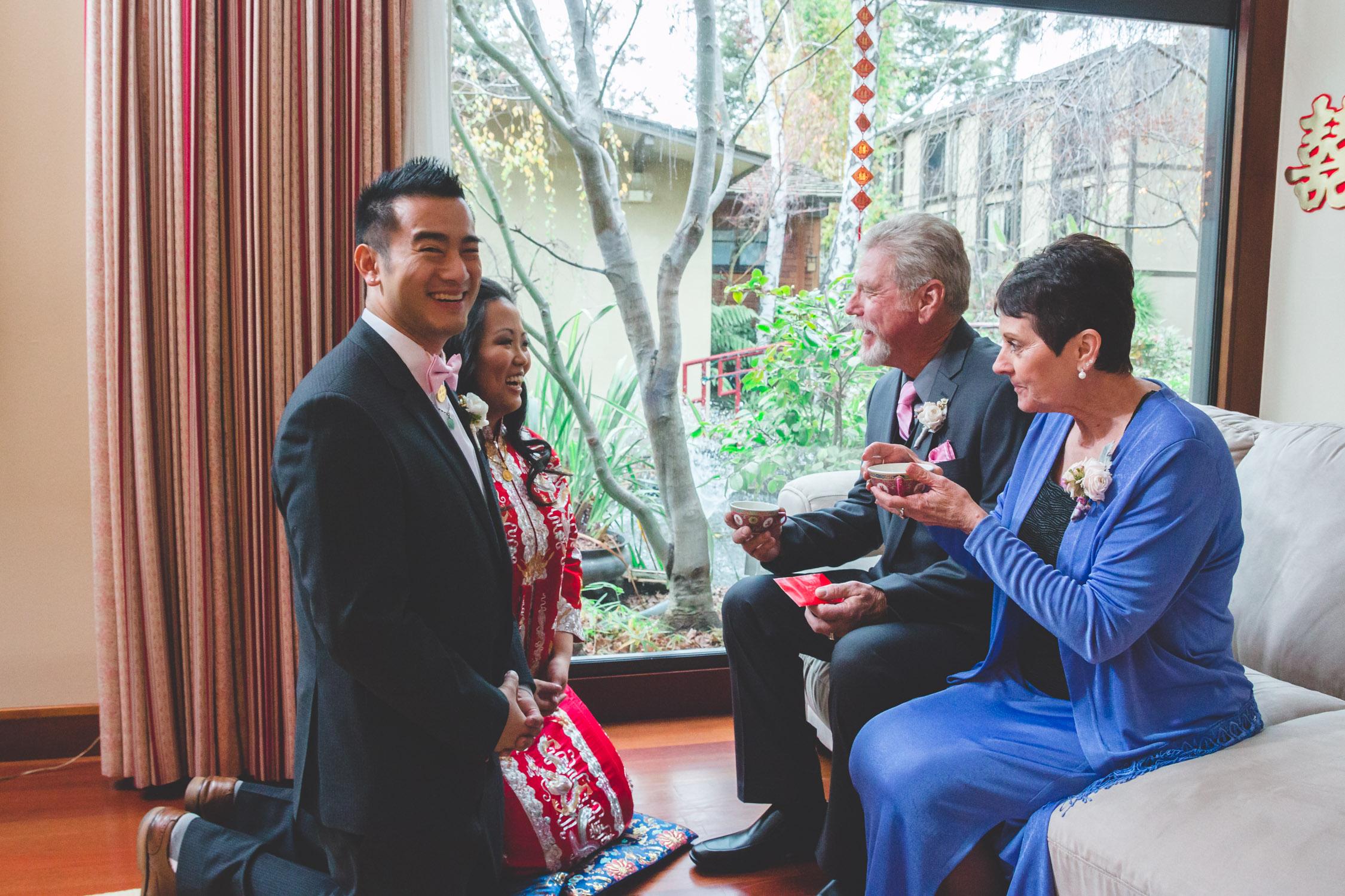 modesto tea ceremomy wedding