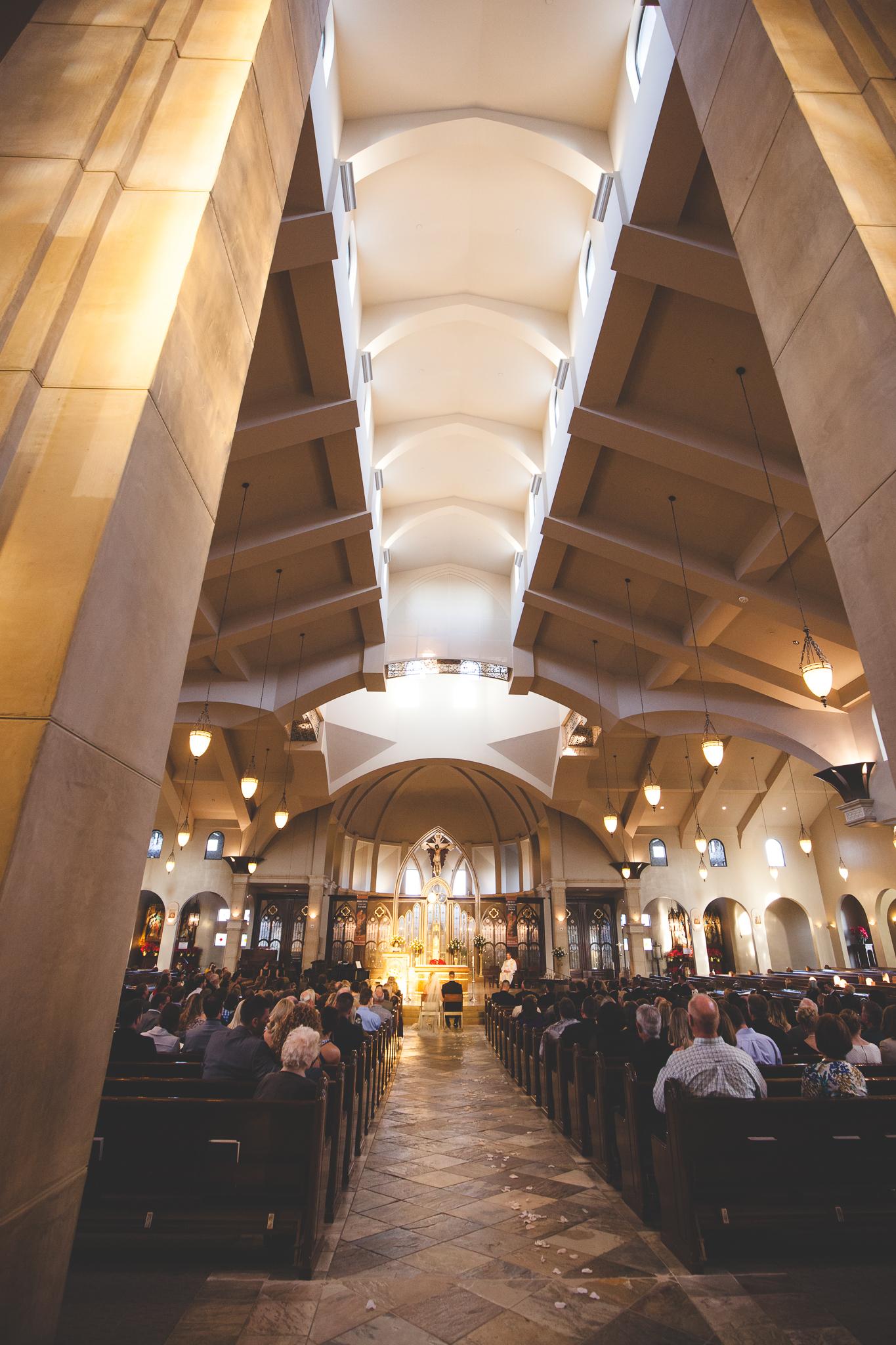 modesto catholic wedding