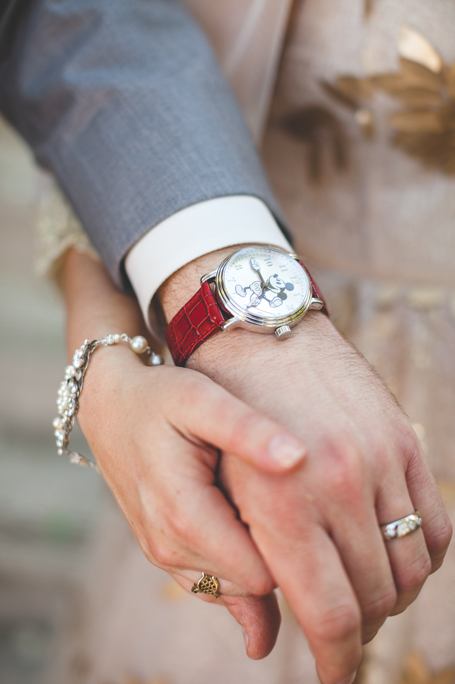 mickey mouse watch disney wedding