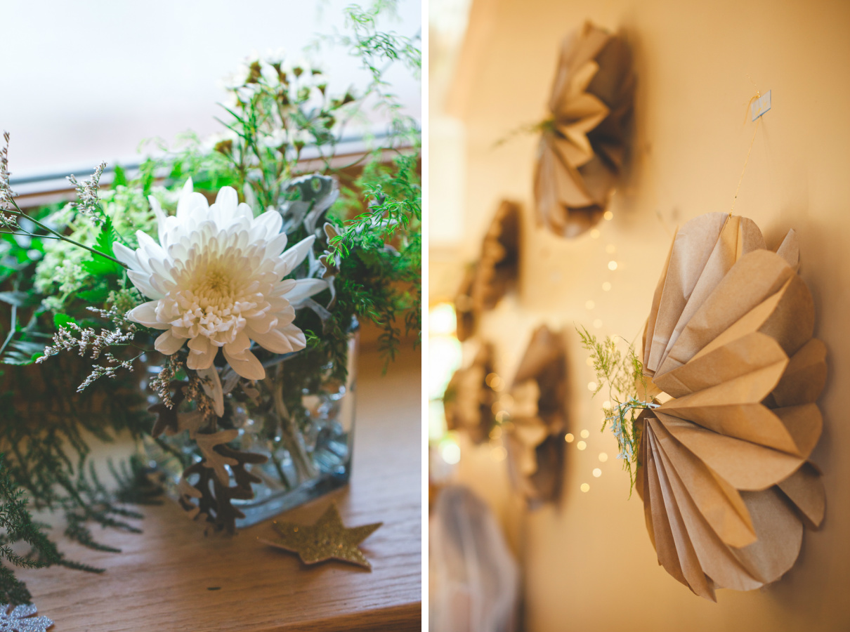 diy paper lantern wedding