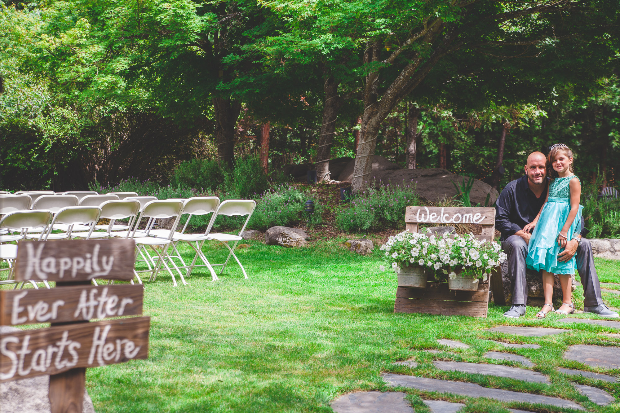 lazy z ranch ceremony