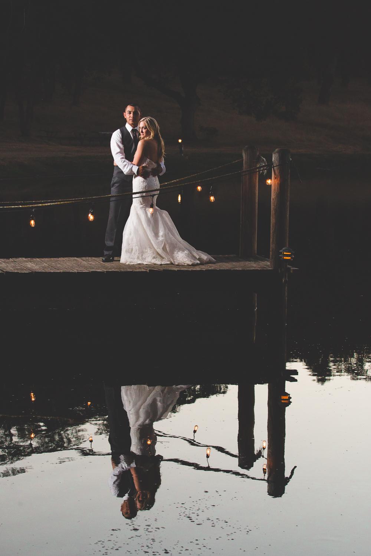 dramatic modesto wedding photography