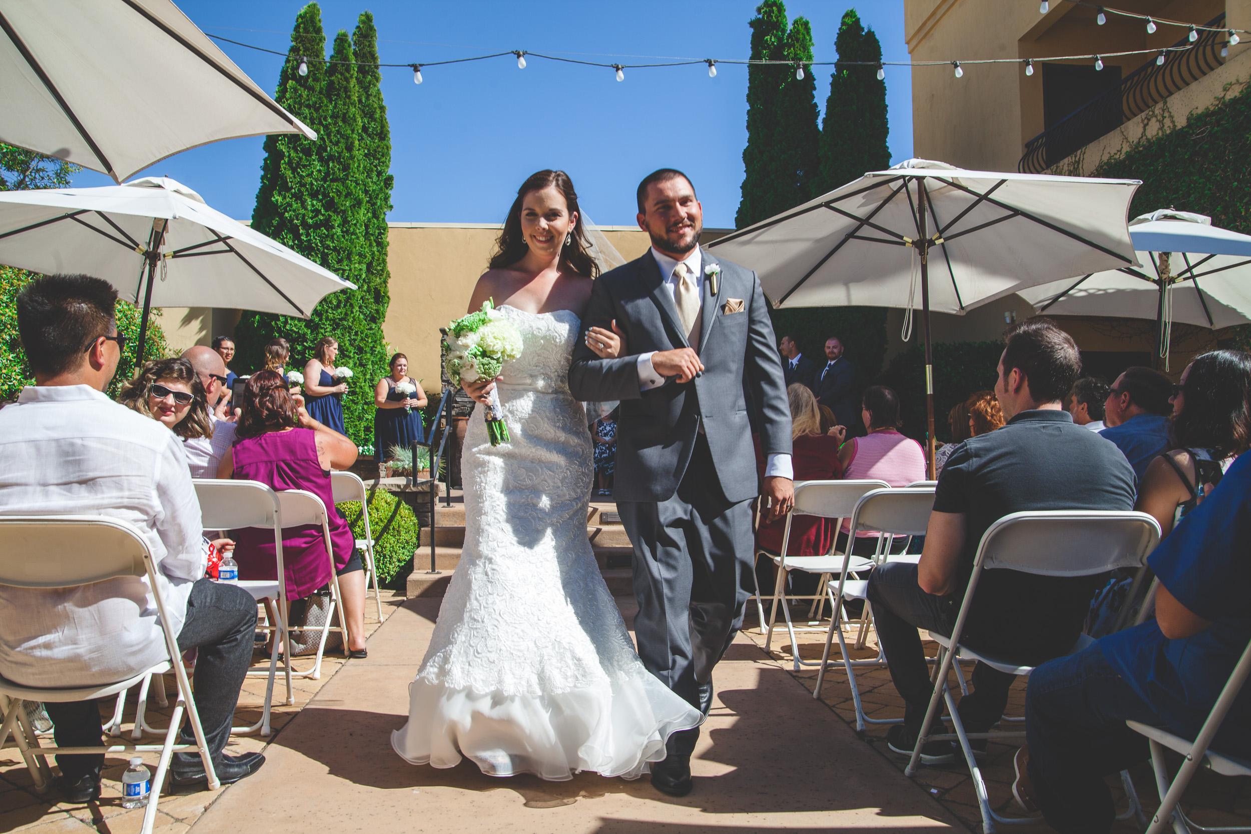 oakdale wedding california