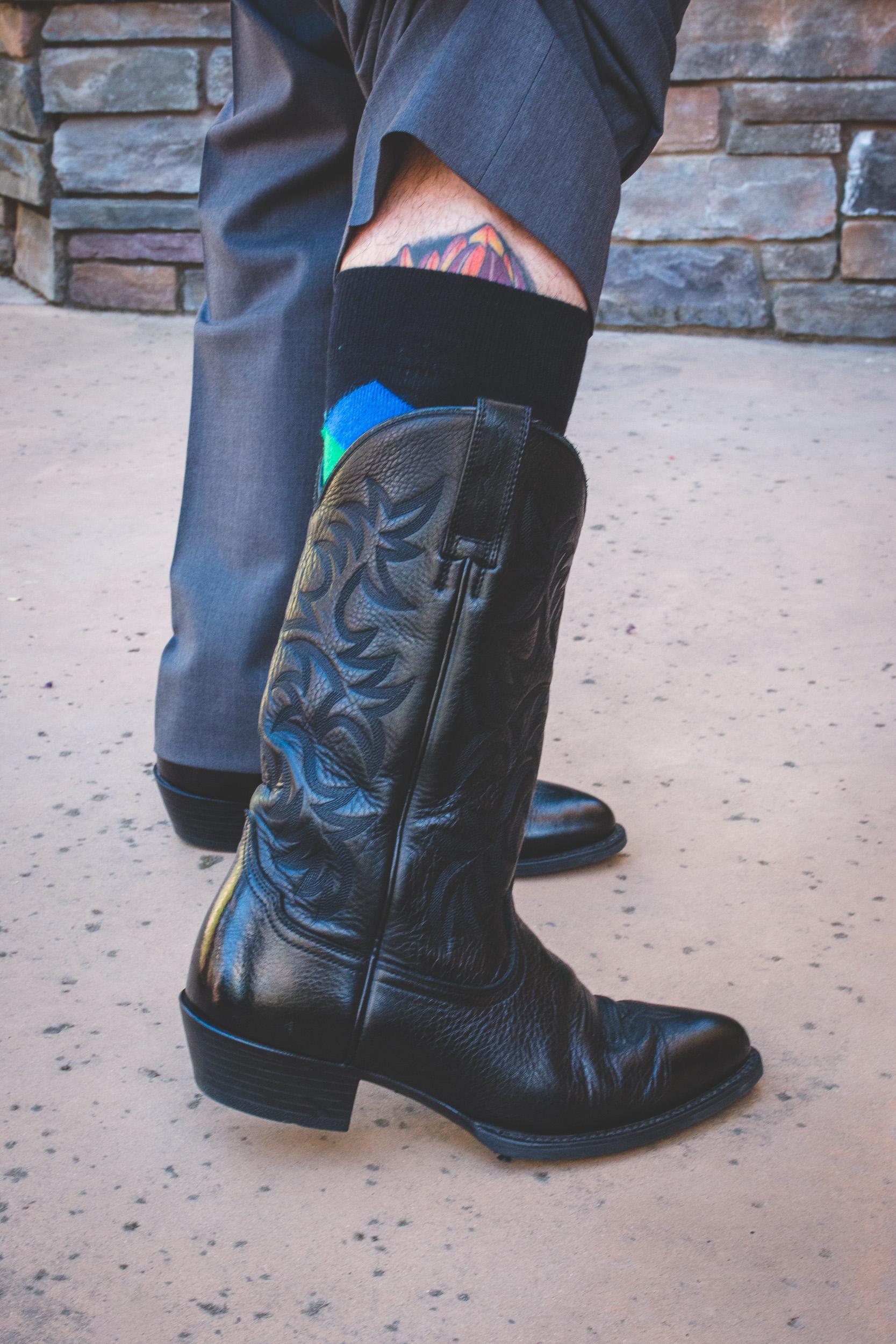 groom cowboy boots