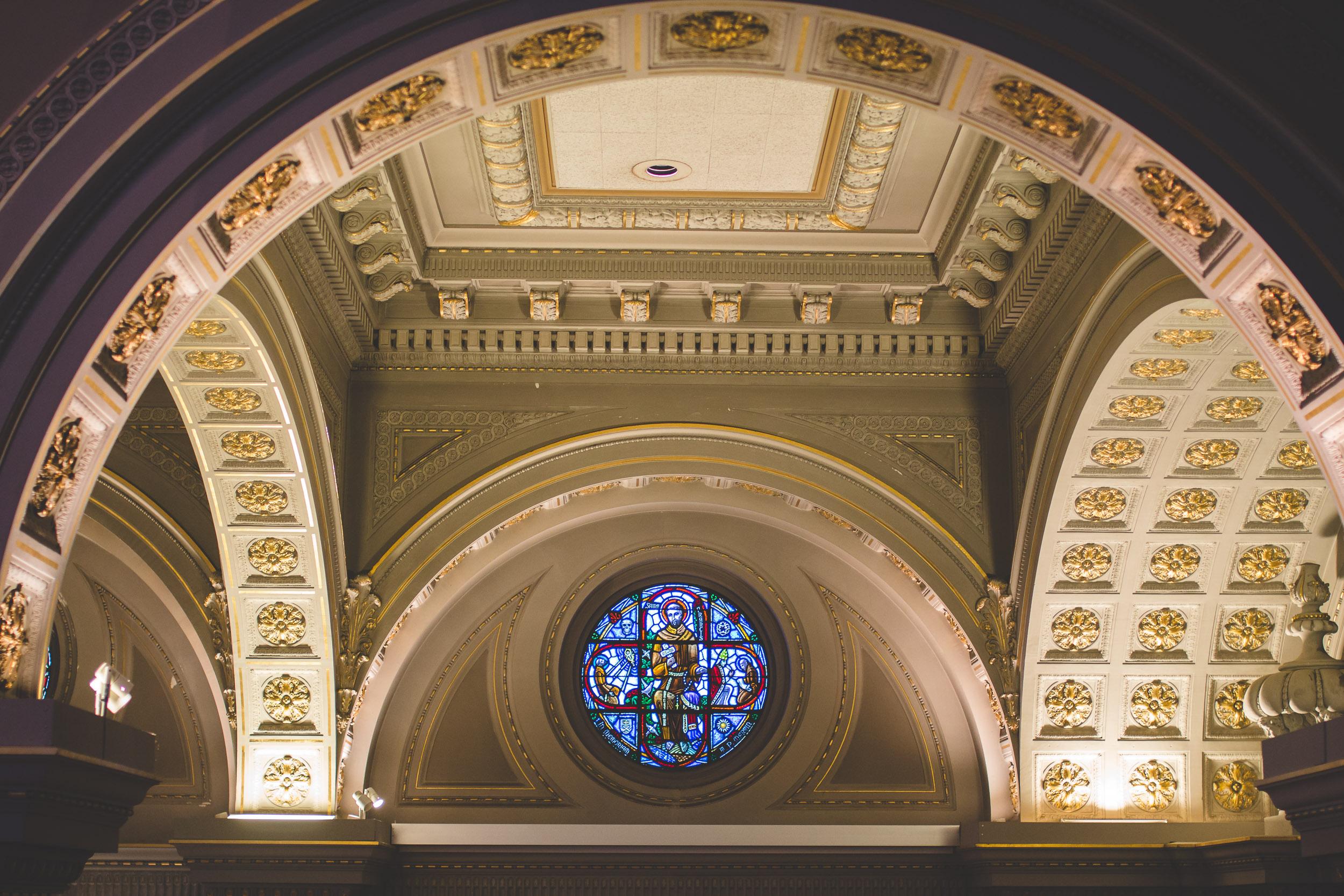 st. ignatius church san francisco stain glass