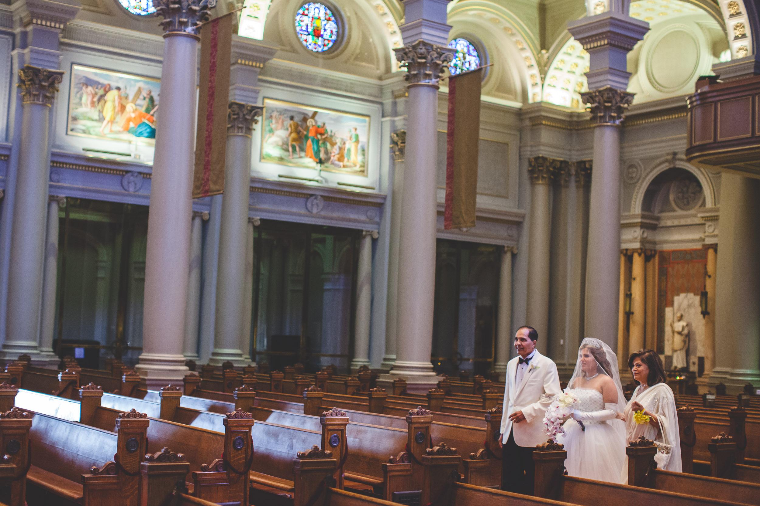 saint ignatius church wedding