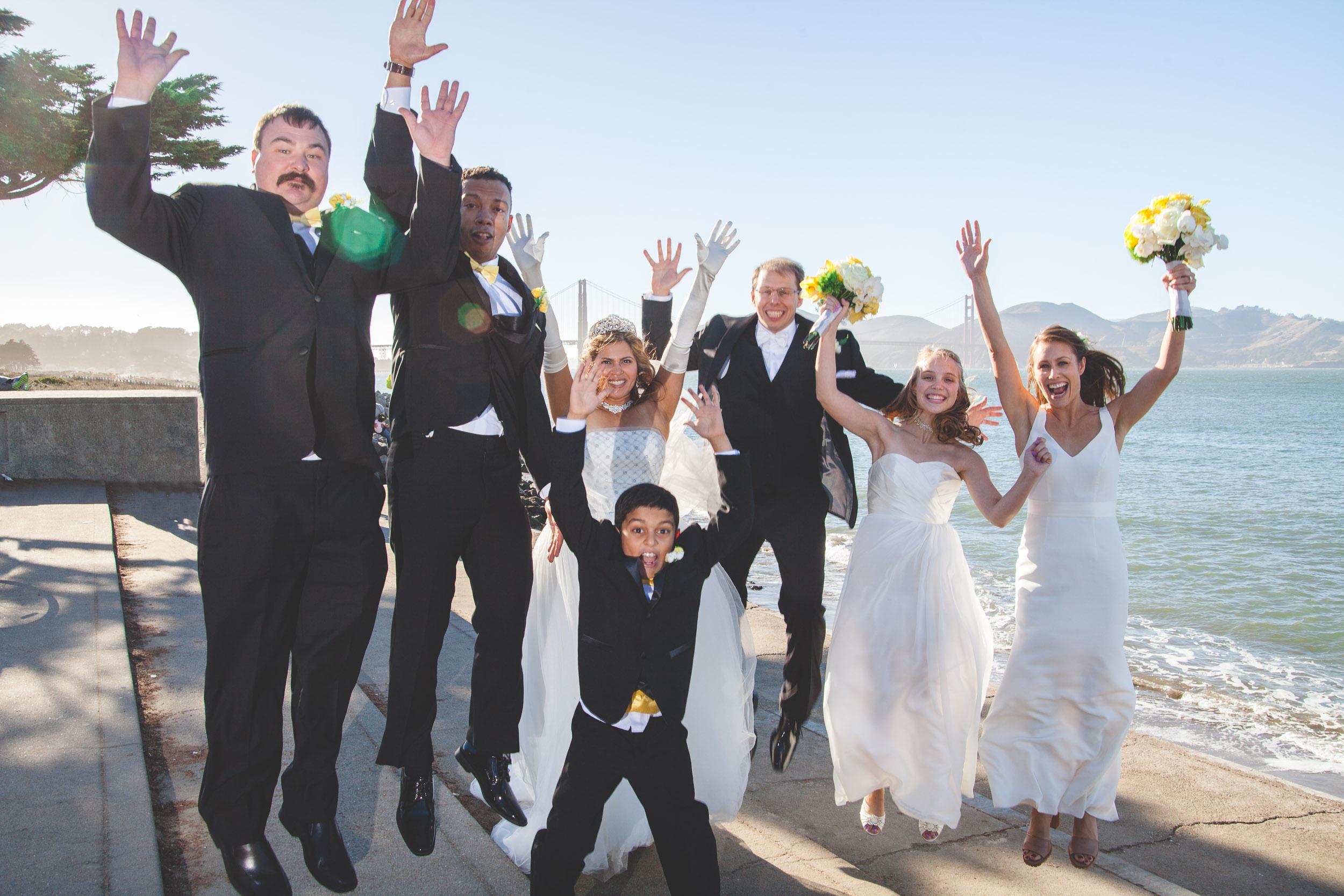 fun san francisco wedding