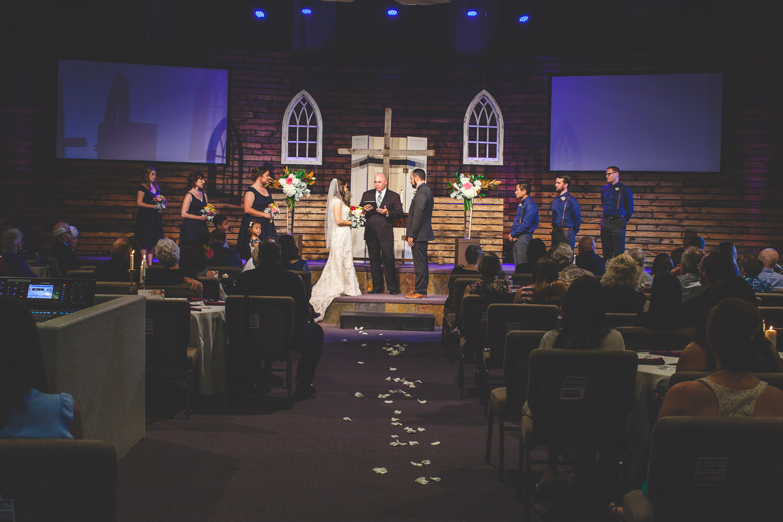 redeemer church modesto wedding ceremony