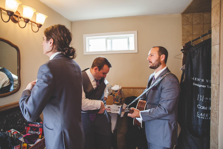 band nerd wedding