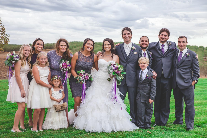 high end wedding modesto
