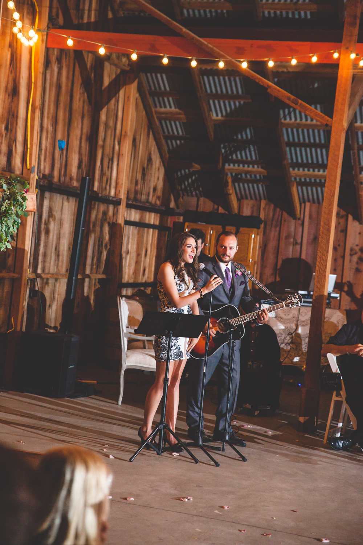 live music first dance wedding