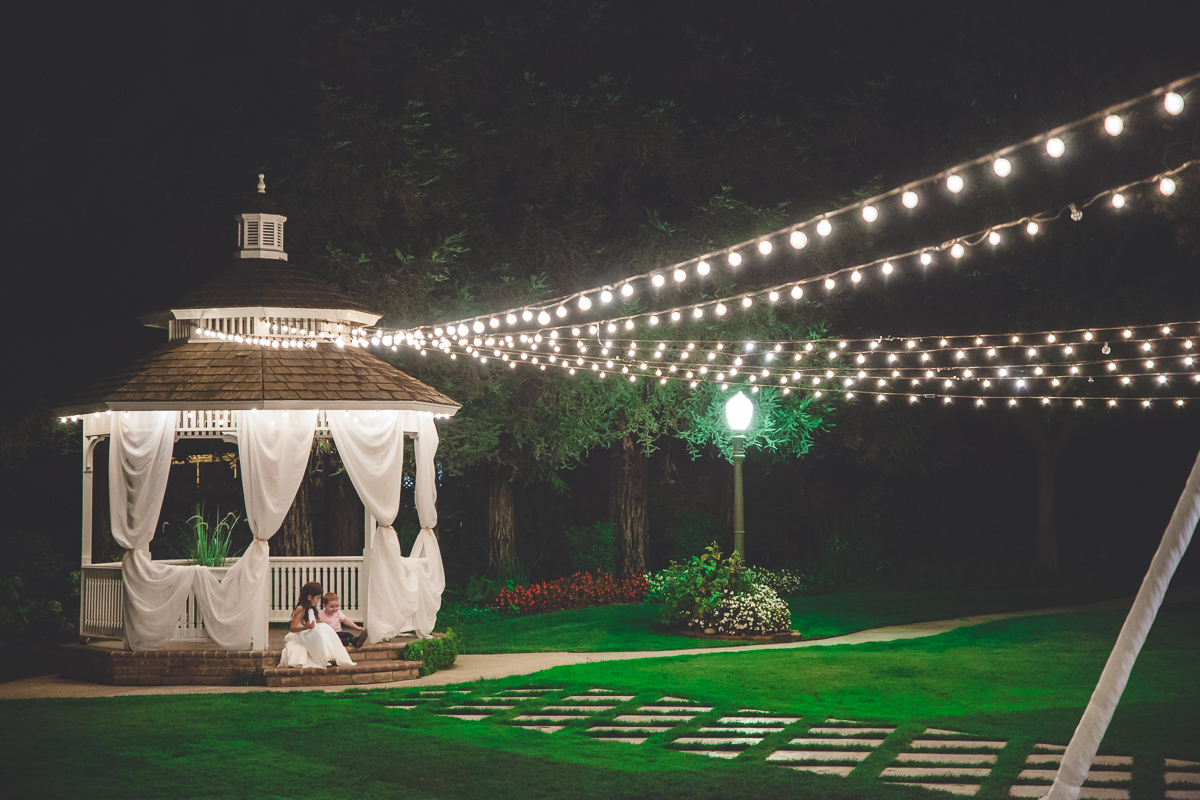 gazebo wedding modesto