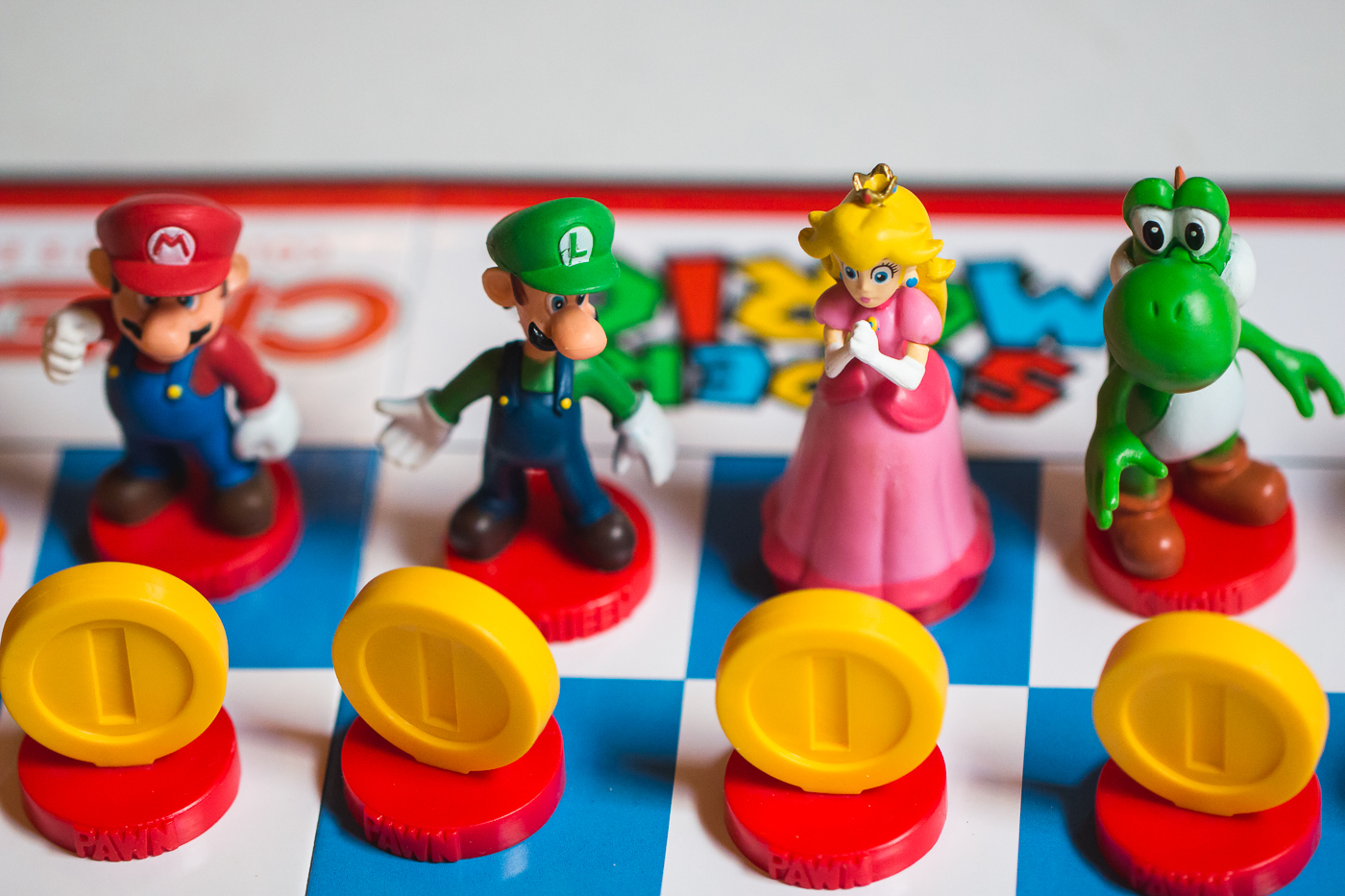 mario brothers chess wedding