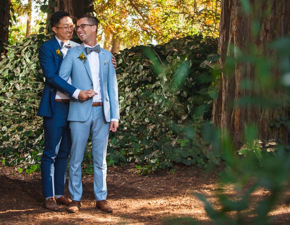 gay wedding santa cruz