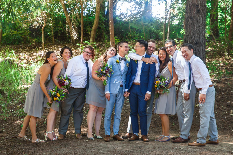 gay forest wedding