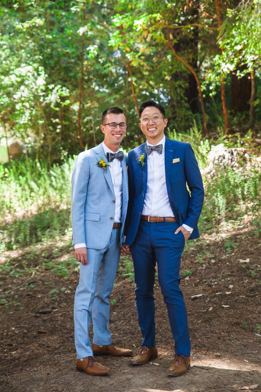 colorful san francisco bay area wedding