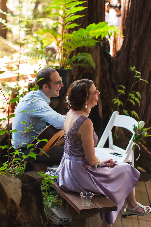 redwood forest wedding california