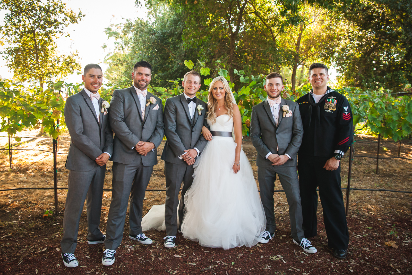 winery wedding lodi