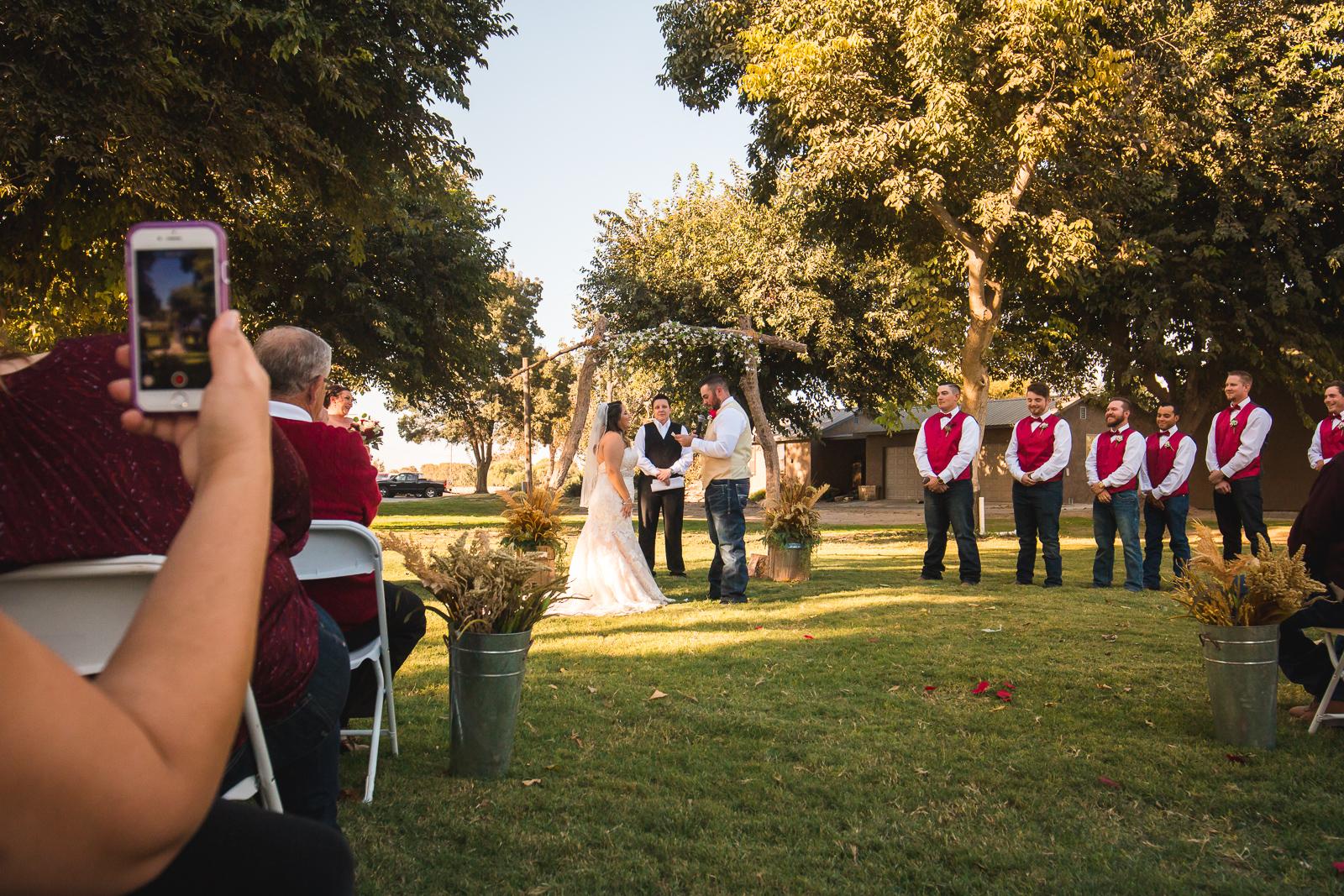 modesto gun club wedding