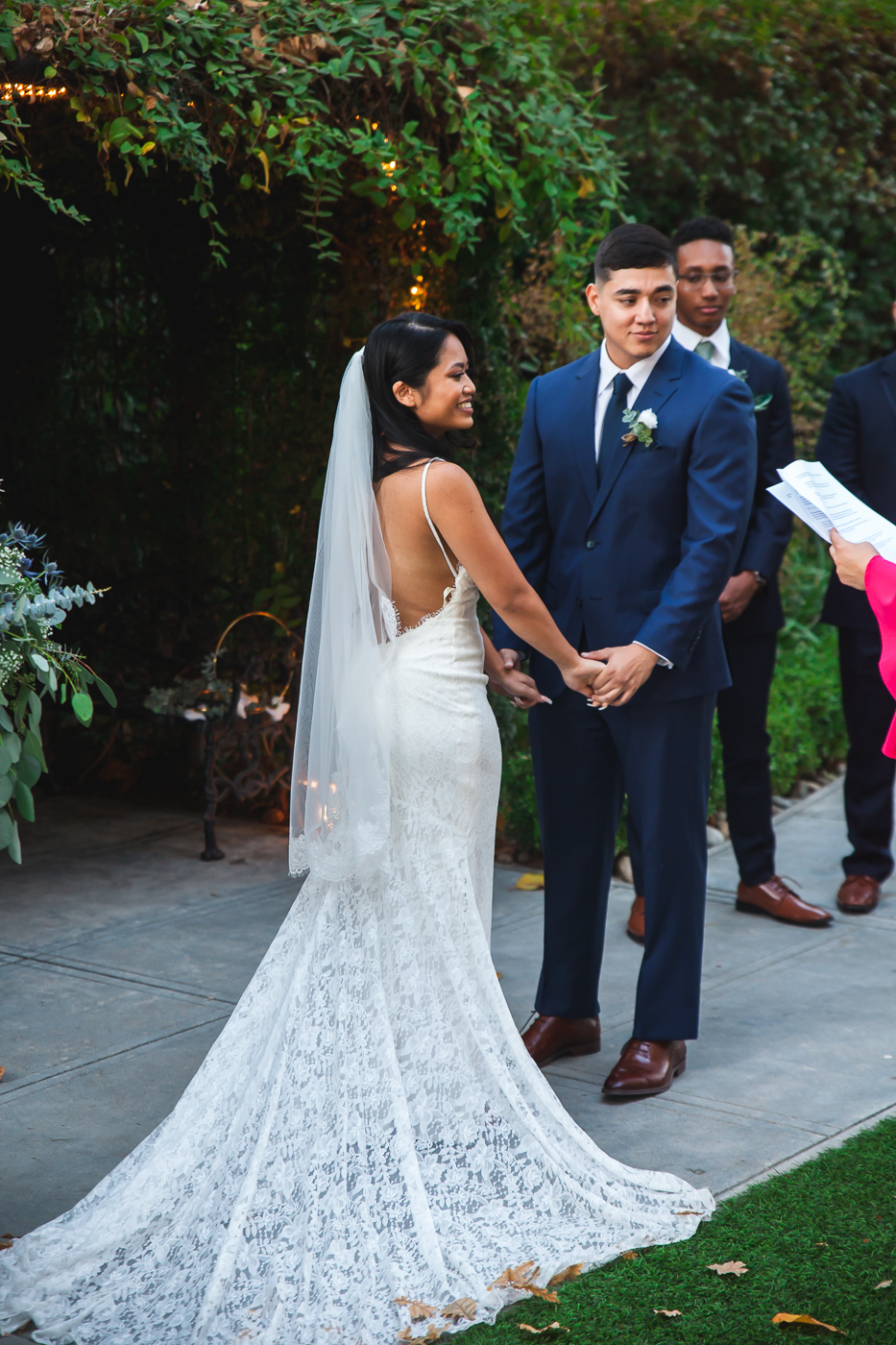 fall wedding modesto
