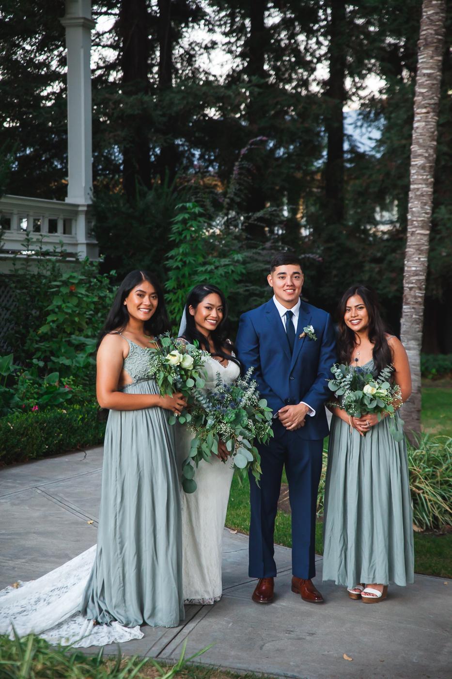 downtown modesto wedding photographer