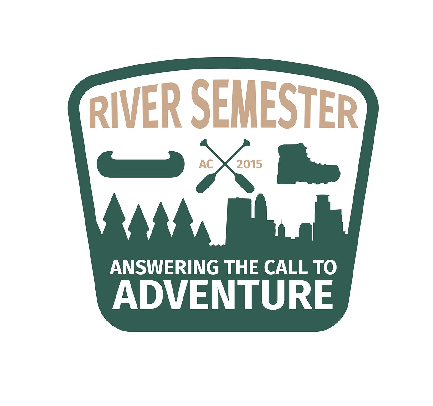 River Semester Badge