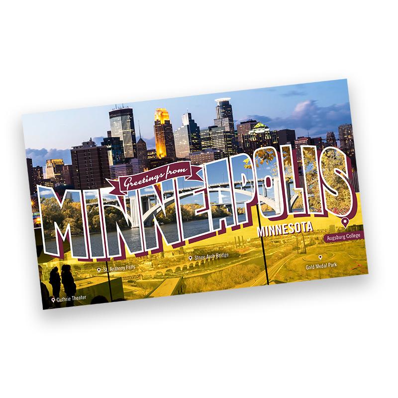 Undergrad Junior Postcard - Out State